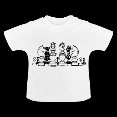 Chess pieces - Baby T-Shirt