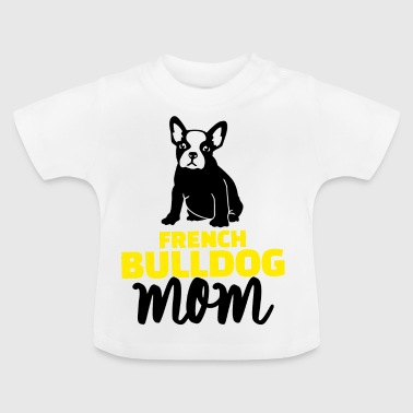 yellow bulldog mom yellow - Baby T-Shirt
