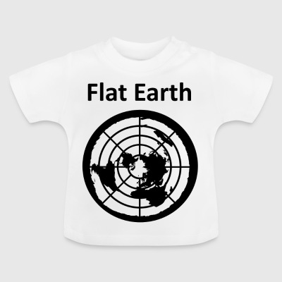 Flat Earth 2 - Baby-T-shirt
