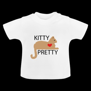 Kitty pretty - Baby T-Shirt
