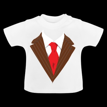 Suit suite Occasion dressed formally elegant - Baby T-Shirt