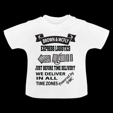 Brown & McFly express logistics - Baby T-Shirt