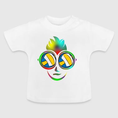 Volleyball beach volleyball holiday beach gift - Baby T-Shirt