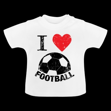 Football gift pediatrische cardiale voetbal kicker - Baby T-shirt