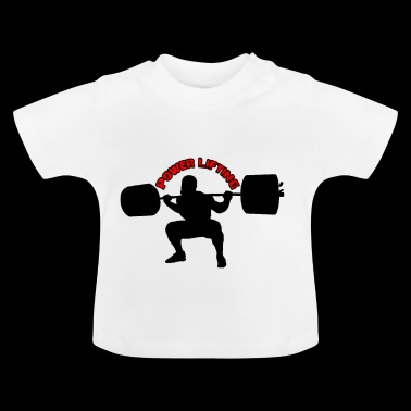 Powerlifting Squats fitness Bodybuilding - Baby T-Shirt