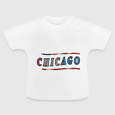 Chicago - Baby-T-skjorte