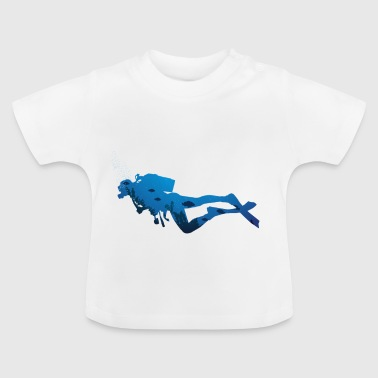Diving Diving Diving Suit Diving Mask Diver - Baby T-Shirt