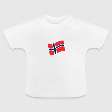Norway conquers space Scandinavia flag - Baby T-Shirt