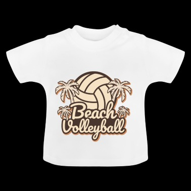 Beachvolleyboll - Baby-T-shirt