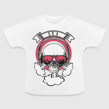 Skull Party Skull SKA Music - Baby T-Shirt