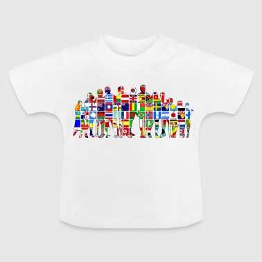 Flags of the world - Baby T-Shirt