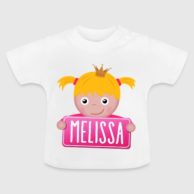 Little Princess Melissa - T-shirt Bébé