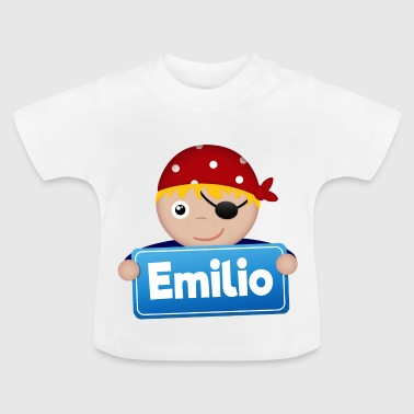 Petit Pirate Emilio - T-shirt Bébé
