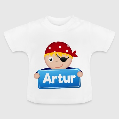 Petit Pirate Artur - T-shirt Bébé