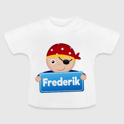 Lidt Pirate Frederik - Baby T-shirt