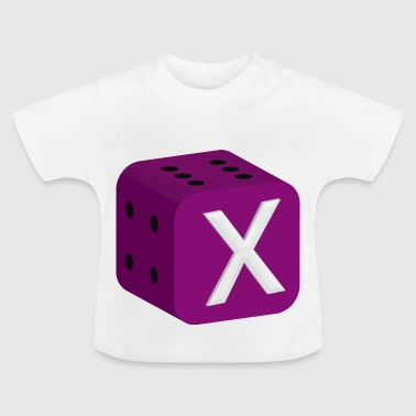 Dice Dice Game of luck backgammon - Baby T-Shirt