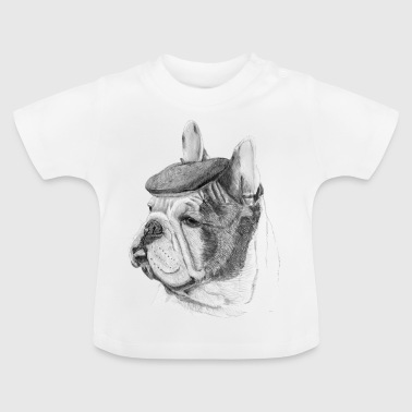 French Bulldog w / report - Baby T-Shirt