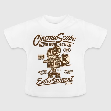 RETRO MOVIE FESTIVAL - Cinema and Movie Shirt Motif - Baby T-Shirt