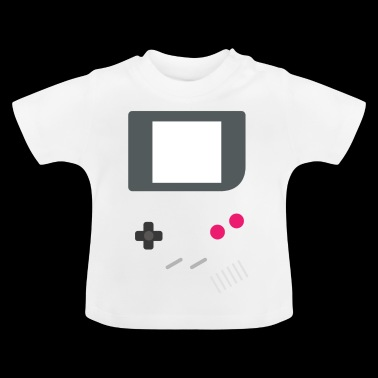 GAMING GAMER zocker Knopen & SCHERM retro scène - Baby T-shirt