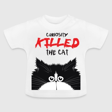 Curious cat - Baby T-Shirt