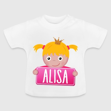 Little Princess Alisa - Baby-T-shirt