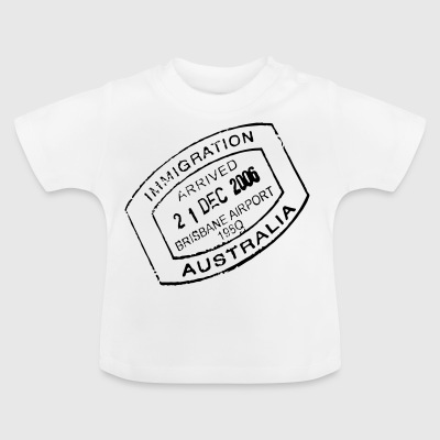Travel stamp - Baby T-Shirt