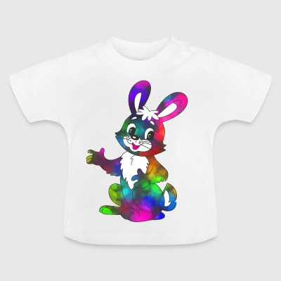 Bunter Osterhase super sweet - Baby T-Shirt