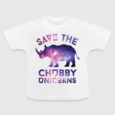 SAVE THE CHUBBY UNICORNS T-SHIRT - Baby T-Shirt
