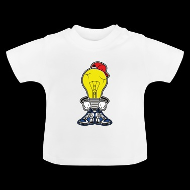L'ampoule intelligente. Cool, intelligent et intelligent! - T-shirt Bébé