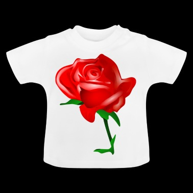 Rote Rose - Baby T-Shirt