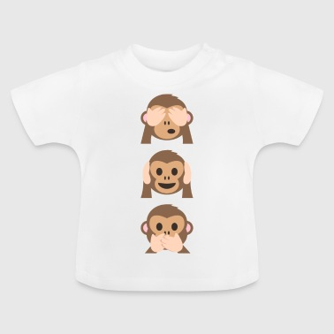 Limited edition of Monkey Emoji - Baby T-Shirt