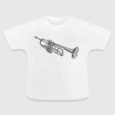 Trompete Scribble - Baby T-Shirt
