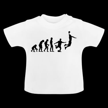 Evolution Basketball - Vom Affen zum Dunk - Baby T-Shirt