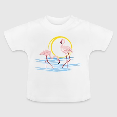 flamingo's - Baby T-shirt