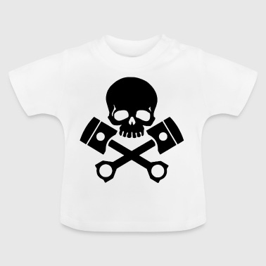 schedel gas - Baby T-shirt