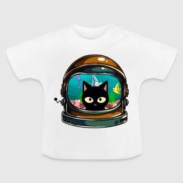 Helmet as an aquarium - Baby T-Shirt