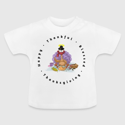 SASSY THANKSGIVING TURKEY B - Baby T-Shirt