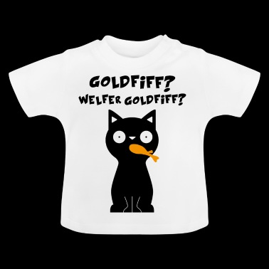 Cat dier grappig gift - Baby T-shirt