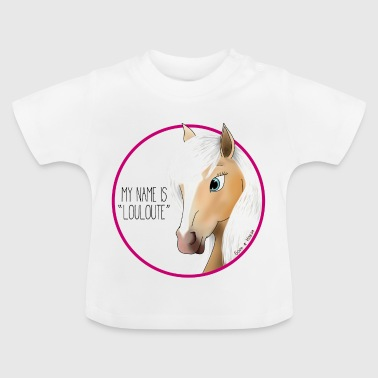 My name is LOULOUTE - Baby T-Shirt