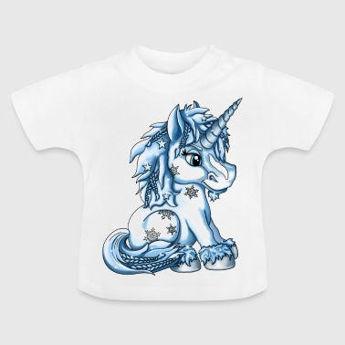 Frost Unicorn Elsi - Baby-T-shirt