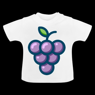 Grape velsmakende frukt gave - Baby-T-skjorte