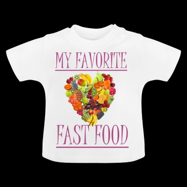 fruit - T-shirt Bébé