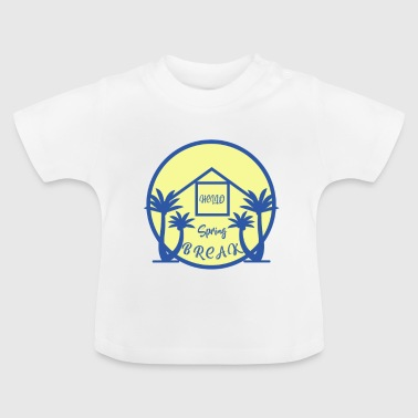 Spring holiday gift palms spring break - Baby T-Shirt