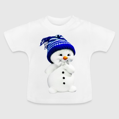 Mignus the baby snowman - Baby T-Shirt