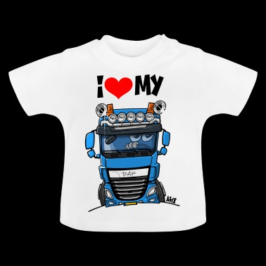 0700a I <3 my - Baby T-shirt