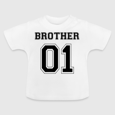 BROTHER 01 - BLACK EDITION - Baby T-Shirt