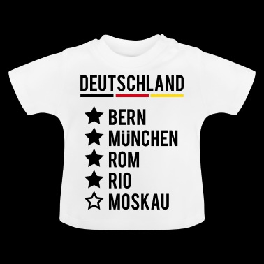 Football World Champion Germany Siege World Cup - Baby T-Shirt