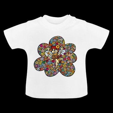 Anton & Concrete Flower Bee Beea - Baby T-shirt