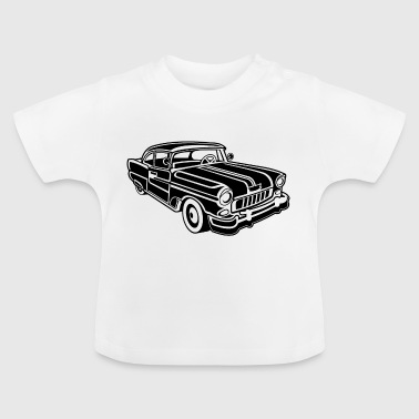 Chevy Cadilac / Muscle Car 02_schwarz - Baby T-Shirt
