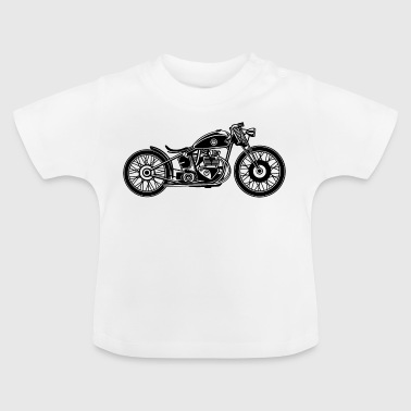 Chopper / Bobber motorcycle 09_black - Baby T-Shirt
